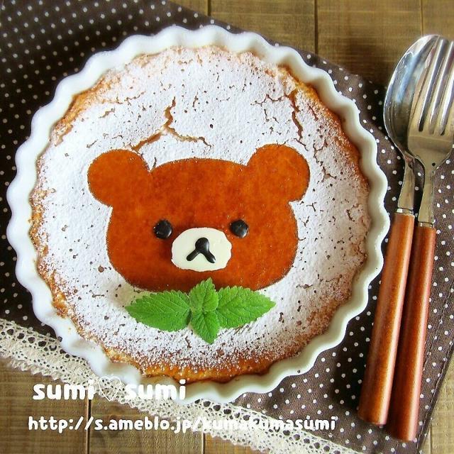 リラックマのベイクドチーズケーキ♥Yumiさん祝600