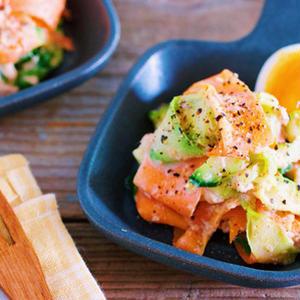 ピーラーで楽チン♪野菜の「ひらひらおかず」が簡単かわいい!