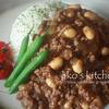 大豆のキーマカレー