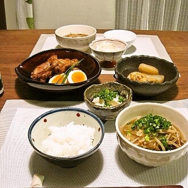 鶏手羽のマーマレード煮とセーラさんの*鶏スープ