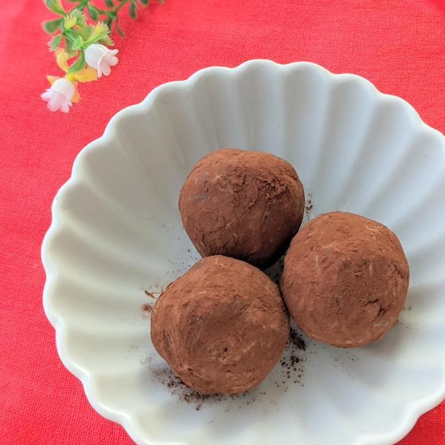 【レシピ】プルーンきな粉チョコボール