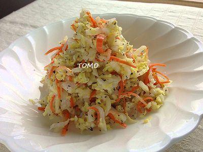 白菜消費に♪白菜とゆかりの和風コールスロー