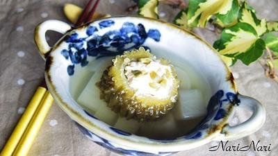 苦瓜盅(苦瓜の肉詰めスープ)