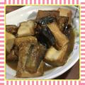 茄子と厚揚げの味噌煮(レシピ付)