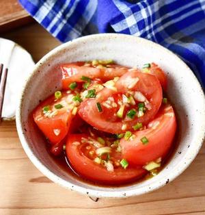 あと一品に♪3分レシピ♪ 【トマトの香味オイスターナムル】#作り置き