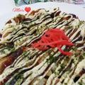 《レシピ有》シャウ ベーコロン入り☆お好み焼き、ディナーロール。