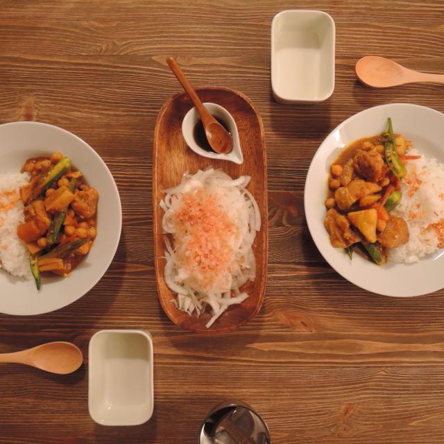 今日の晩ごはん~野菜たっぷりの手作りカレー~