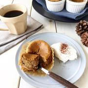 混ぜるだけ【コーヒー*カップチーズケーキ】簡単