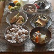 朝ごはんと練習後のお弁当✳︎大きく逞しくなったからちっちゃくなったもの。