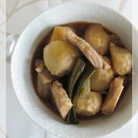豚肉と里芋のオイスター煮込み