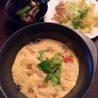 野菜スープに玄米
