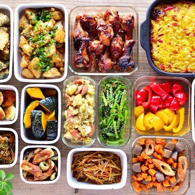 一週間の作り置き・常備菜レポート(2015/8/23)