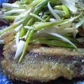 本格中華♪ 太刀魚の南蛮ソースがけ