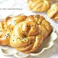 【レシピ】安納芋のおさつパン
