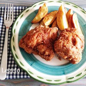 がっつりおかずをちょっと節約♪鶏むね肉の「フライドチキン」
