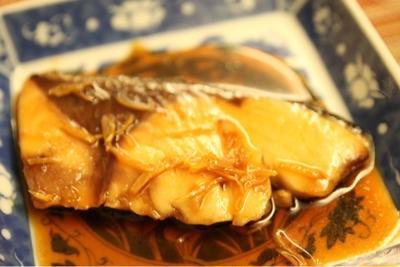 寒ブリの生姜焼き