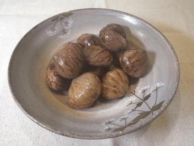 栗の渋皮煮・料理レシピ