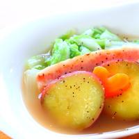 【簡単】じっくり煮込んだ白菜とベーコンのポトフの作り方レシピ