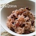 炊飯器×白米で手軽に美味しく♪赤飯☆