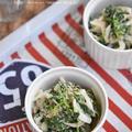 5分で栄養豊富な副菜がすぐ出来る*ほうれん草と新たまねぎのツナサラダ