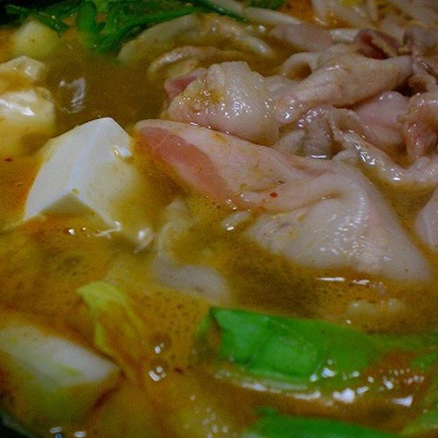 キムチ鍋で~す!