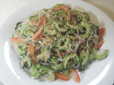 ゴーヤとツナの春雨サラダ・料理レシピ