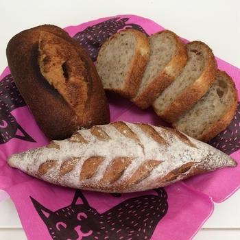 SAMURA ベーカリーのパンで朝ごパン♪