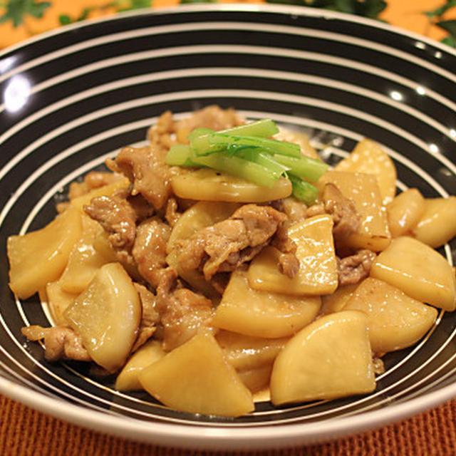 旬♪かぶと豚肉の炒め煮 レシピ