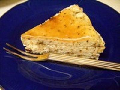 米粉チーズケーキーアールグレー風味
