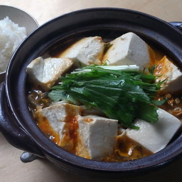 豚キムチ納豆豆腐鍋