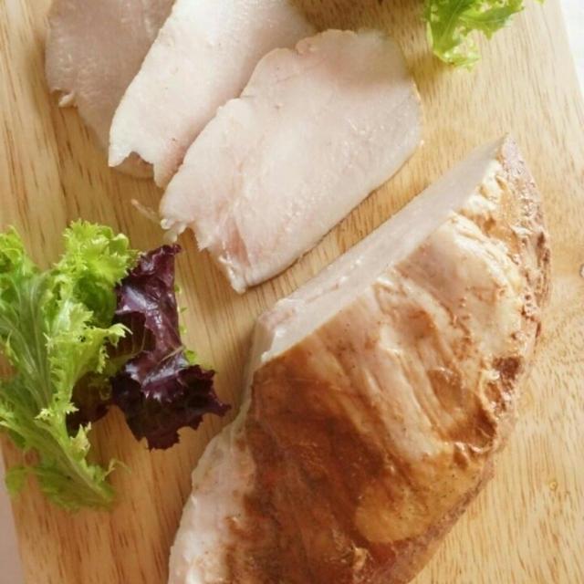 鶏むね肉の、しっとり紅茶煮