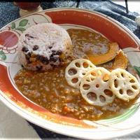 ひき肉根菜カレー