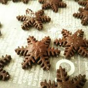 ココアの型抜きクッキー