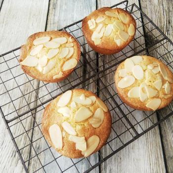 コーングリッツとアーモンドのケーキ《小麦粉不使用バターケーキ》