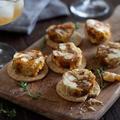 干し柿とクリームチーズとナッツのレーズンバター風