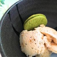 シナモン香るミルクティ&ビスケット ☆ プレミアムアイスクリーム