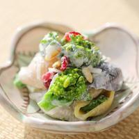 花っコリーとマカロニ☆ヨーグルトサラダ