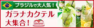 ガラナ・アンタルチカのカクテルレシピ