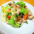 """野菜がモリモリ食べられる """" 豚しゃぶサラダ """"  by アレックスさん"""