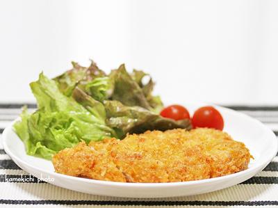 MASSAで「チーズポークカツ」&細い筍とアスパラのバター醤油焼き