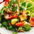 【お刺身サラダ】ヒラマサのパクチーレモンサラダ(動画レシピ)