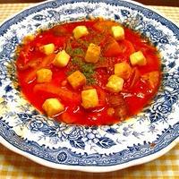 小岩井 こんがり焼けるチーズを使って、ロシア風!?根菜のトマトスープ