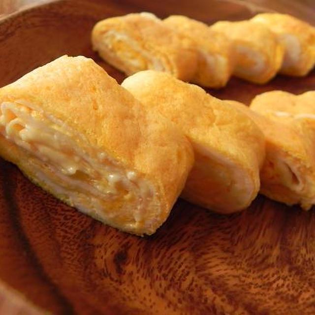 お弁当にぴったり★簡単チーズ卵焼き