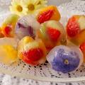 簡単可愛い♪フラワー&フルーツ寒天 by shoko♪さん