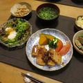 豚バラ角煮~マーマレード風味の晩ご飯 と チェリーセージの花♪