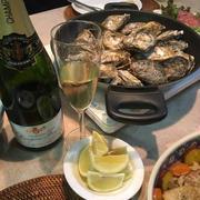 シャンパンに合う晩ご飯