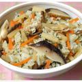 緑茶香る★筍とぜんまいの炊き込み混ぜご飯
