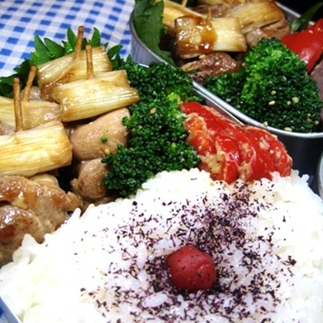 焼き鳥串のお弁当
