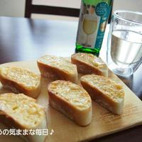 ノンアルワインで☆明太マヨトースト