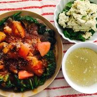 鶏ムネ肉のトマトオイスターソース煮 の 日 !